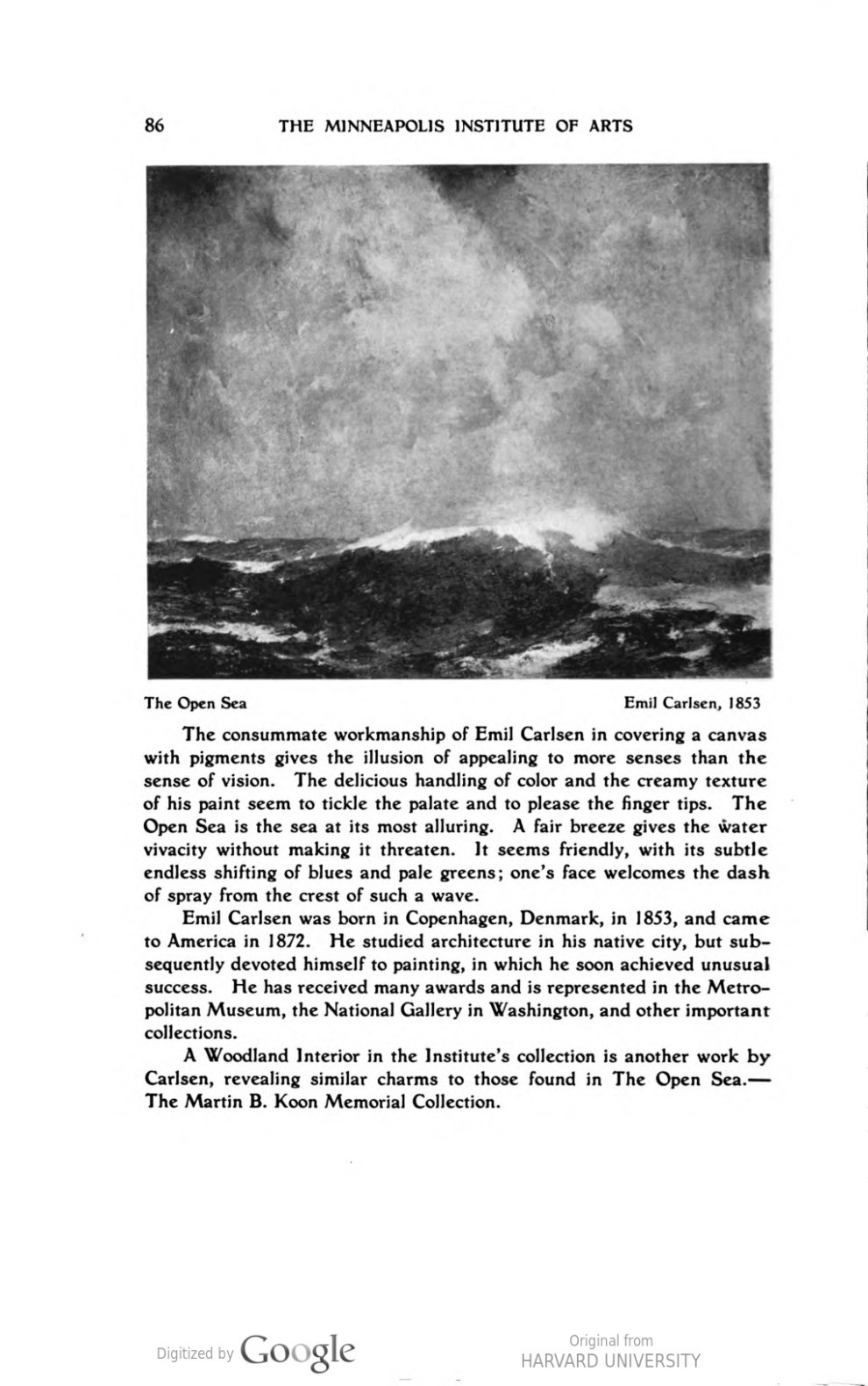 Handbook of the Minneapolis Institute of Arts by the Minneapolis Institute of Art, 1917, illustrated: b&w on page 86