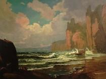 Emil Carlsen : Marine, ca.1877.