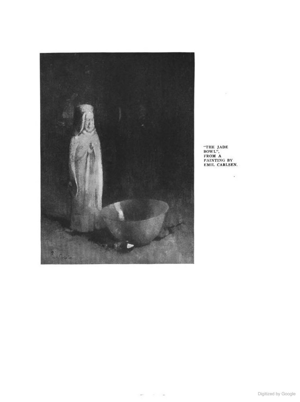 """The Touchstone and the American Art Student Magazine, New York, NY, """"Still Life Paintings As Inspiration for Home Decoration: Illustrated By The Work of Emil Carlsen"""", Mary Fanton Roberts Incorporated, 1920, Volume 7, page 110-116, illustrated: b&w"""