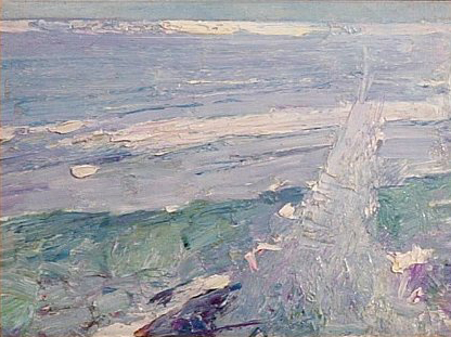 Emil Carlsen Surf no. 6, ca.1914.