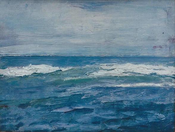 Emil Carlsen : Surf no. 3, ca.1923.