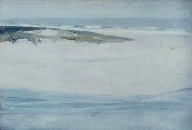Emil Carlsen : The inlet, ca.1910.