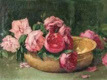 Emil Carlsen : Swooning roses, 1896.