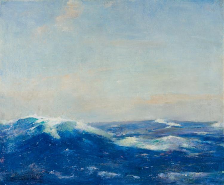 Emil Carlsen : Seascape, ca.1930.