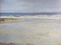 Emil Carlsen : Low tide, ca.1923.