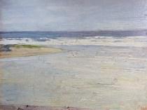 Emil Carlsen : Low tide, ca.1923.