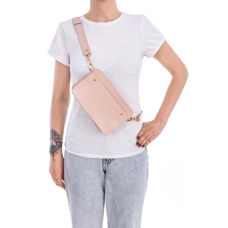 Elegancka nerka torebka przez ramię