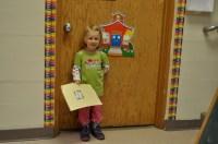 She starts school!