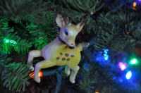 Decorating the Christmas Tree, something Old. This is one of my favorite ornaments from my childhood.