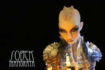 Sobek - Nnaji Inamorata 2.0 OOAK Busty Milk art doll bjd haute couture emiliacouture em'lia