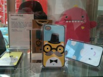 Pretty iPhone covers in the Museums Sheffield gift shop