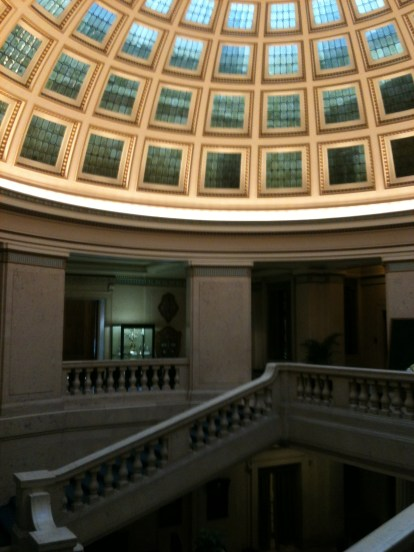 Inside the Nottingham Council House