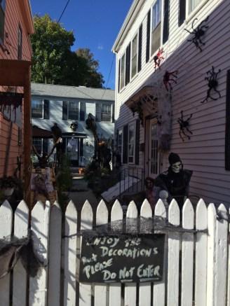 Great Halloween display
