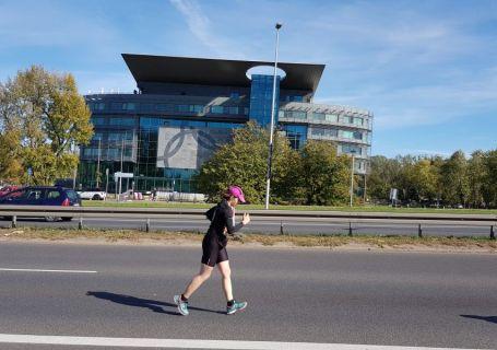 ja biegnąca maraton