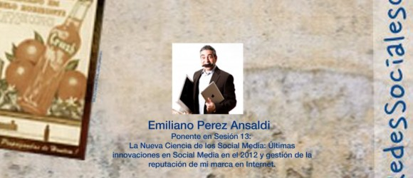Emiliano Perez Ansaldi en la III Semana de las Redes Sociales de Castilla y León