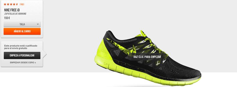 Página Tienda Online - Nike