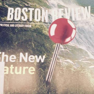 Boston Review cover January and February 2016