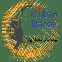 Logo de iCubanDance réalisé par Emilia Simandy webdesigner graphiste à Lille