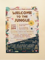 affiche festival Welcome to the Jungle en Tarn-et-Garonne