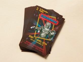 Flyer de la 3° édition de BlingBoomChic