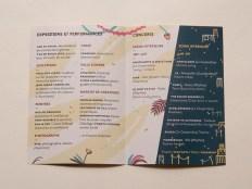 Dépliant programme, festival familial
