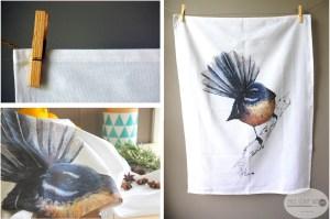 birds, New Zealand, bird, kiwi, kiwiana, feather, wings, wild life, kiwiana, folded cards, home, decor, kitchen, teat towel, towel