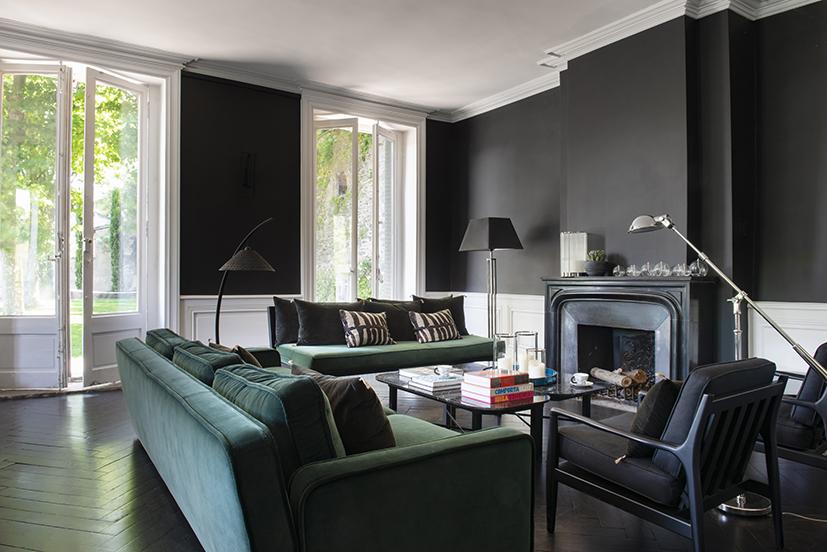 Renovation salon et creation cuisine - projet emilie darneau lombardo - architecture interieur2
