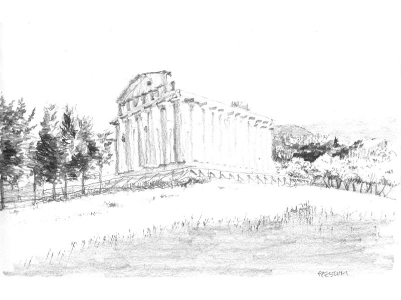 paestum _temple d'Héra