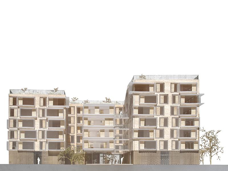 Emmanuel Saadi / logements zac boucicault