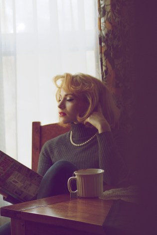 Blondissimo! Vintage Glamour photoshoot by Kat St. John www.katstjohnmua.com
