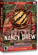 Voiceover, Warnings at Waverly, a Nancy Drew Mysteries computer game produced by Her Interactive.