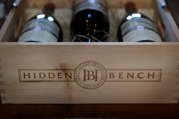 Hidden Bench Wine Bottles