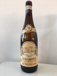 Tommasi Amarone della Valpolicella Classico 2011 wine bottle