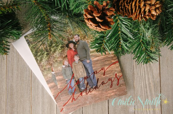 Family holiday christmas cards press products