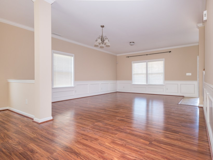 Empty spaces rely on architecture to create interesting spaces. Staging your home evokes imagination and emotion!