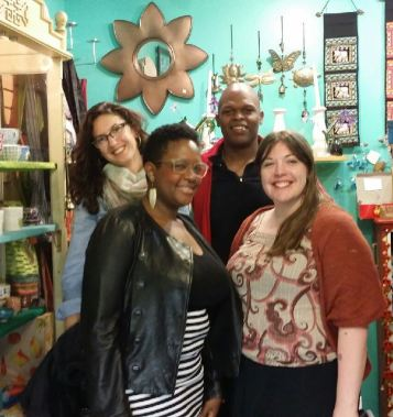 Cassie, Jamey, Maurice and I at Otherlands in Memphis.