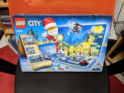 Lego Advent Calender Box