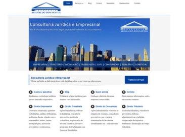 Site: Advocacia Ariovaldo dos Santos