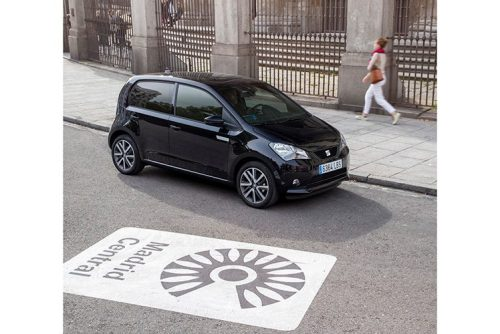 Seat Mii Electric en Madrid Central