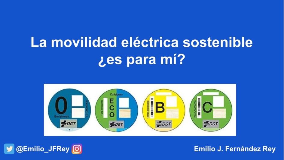 Curso de Movilidad Eléctrica Sostenible