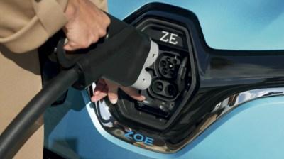 Conector CCS en el Nuevo Renault ZOE.