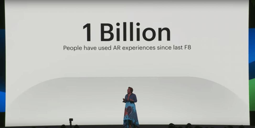 1 billon de experiencias de realidad aumentada
