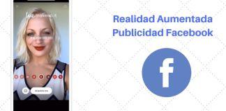 realidad aumentada publicidad facebook