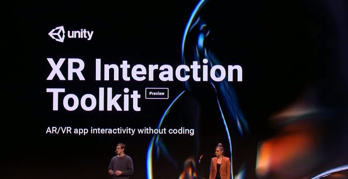 xr interaction toolkit