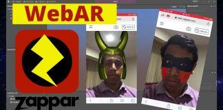 webAR zappar zapworks