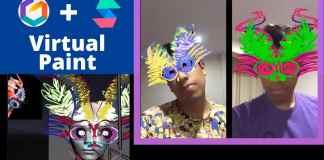 spark ar tilt brush pintura virtual