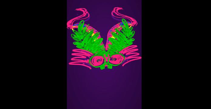 filtro instagram neon diablo