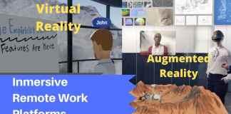 herramienta teletrabajo AR VR