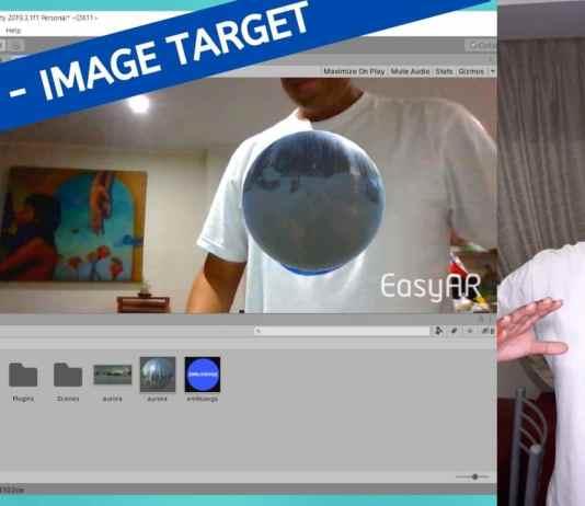 EasyAR tutorial image target