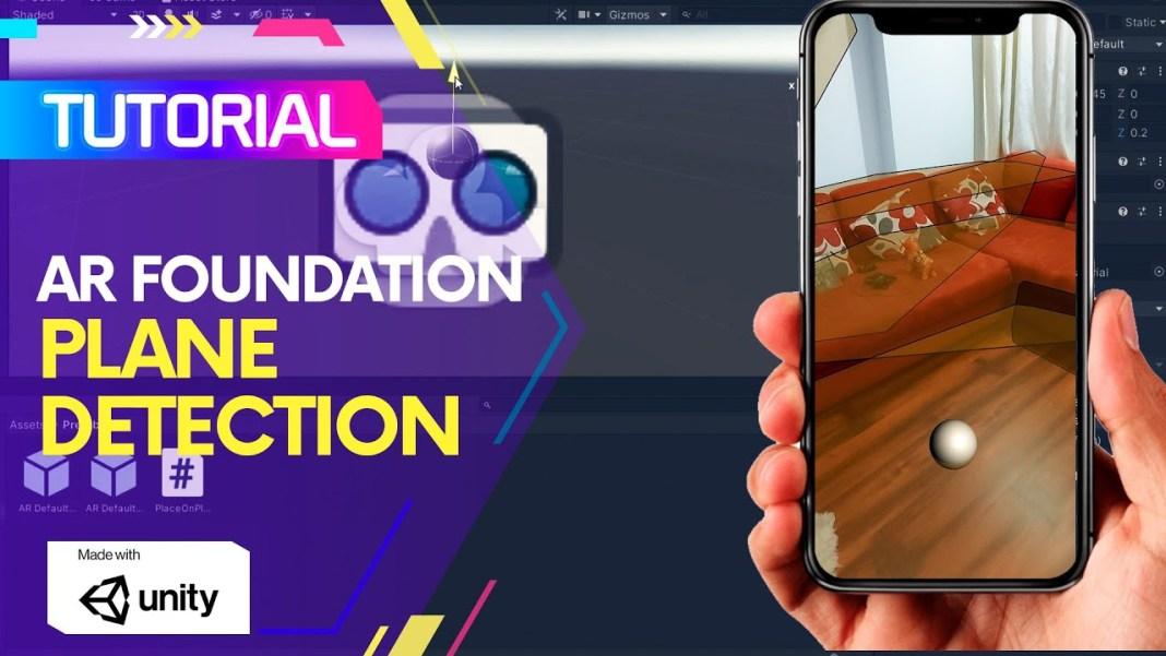 AR Foundation Plane detection